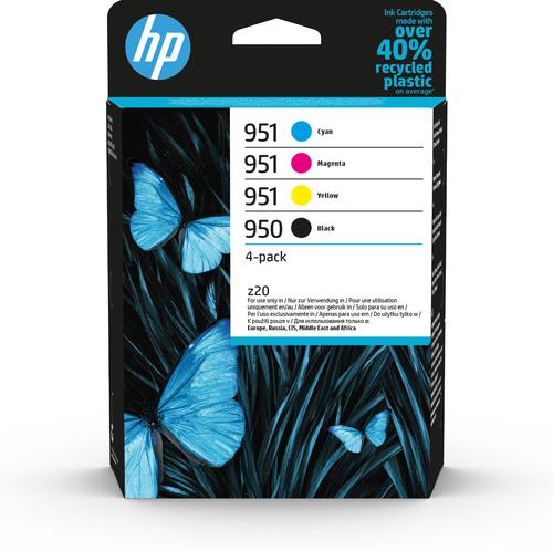 HP CART INK MULTICOLOR 950/951 (NERO/CIANO/MAGENTA/GIALLO)