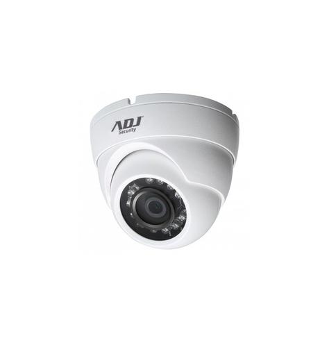 ADJ TELECAMERA A-HD DOME A87 720P 1MPX, CVBS, 25/30FPS VISIONE NOTTURNA 20MT, IP67, COLORE BIANCO
