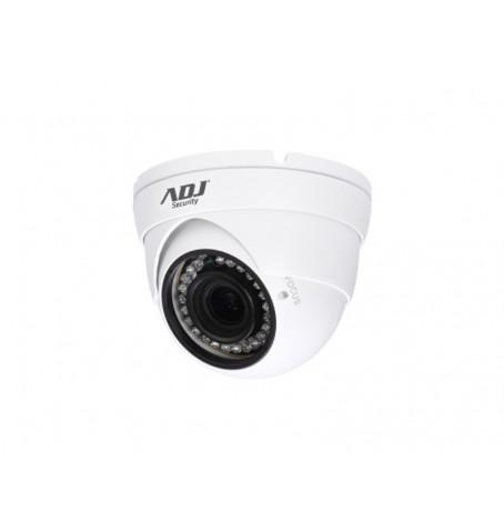 ADJ TELECAMERA A-HD DOME A96 1080P 2MPX, CVBS, 25/60 FPS, VISIONE NOTTURNA 30MT, IP67, COLORE BIANCO