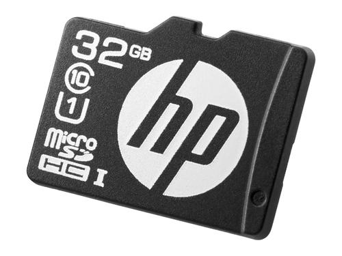 HEWLETT PACKARD ENTERPRISE HP 32GBMICROSDMAINSTREAM FLASH MEDIA KIT