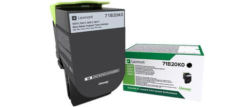 LEXMARK TONER NERO PER CS/CX 317/417/517 3000PAG RETURN PROGRAM