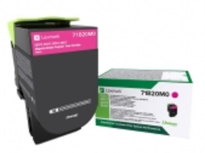 LEXMARK TONER MAGENTA PER CS/CX 317/417/517 2300PAG RETURN PROGRAM