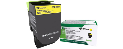 LEXMARK TONER GIALLO PER CS/CX 317/417/517 2300PAG RETURN PROGRAM
