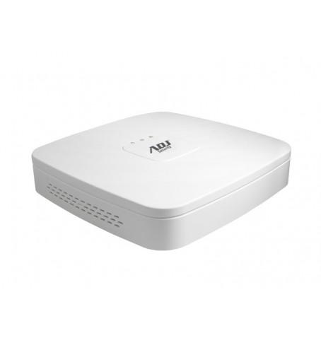 ADJ XVR X-50 4 CANALI ANALOG + 2 CANALI IP 6MPX, CVBS CVI AHD TVI IP, 1HDMI, 1VGA, 1HDD, I/O AUDIO