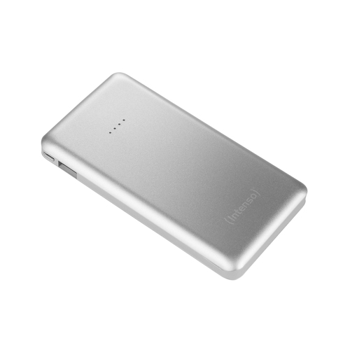 INTENSO POWER BANK 10000MAH USB A + USB A QC DC 5V - 3.1A SILVER