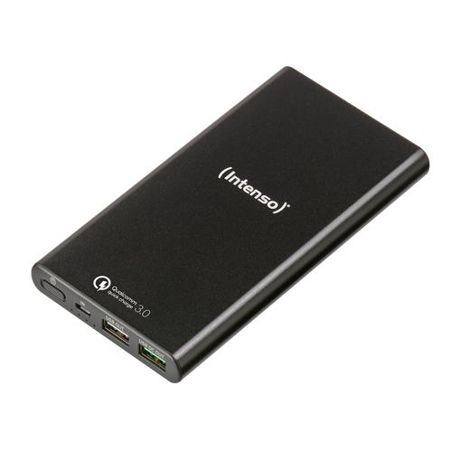 INTENSO POWER BANK 10000MAH USB A + USB A QC DC 5V - 3.1A BLACK
