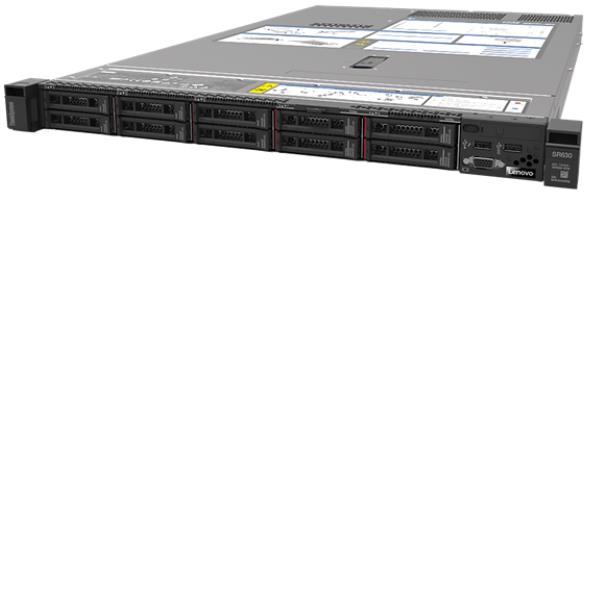 LENOVO SR630 XEON SILVER 4210R (10C 2.4GHZ 13.75MB CACHE/100W) 32GB 2933MHZ (1X32GB  2RX4 RDIMM)  O/B  930-8I  1X750W  XCC ENTERPRISE  TOOLESS RAIL