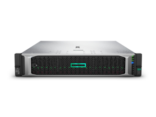 HPE SERVER RACK DL380 GEN10 E5-2620V4 2,2GHZ, 32GB DDR4, CONTROLLER SAS/SATA RAID 5, 1X GIGABIT, PSU 500W