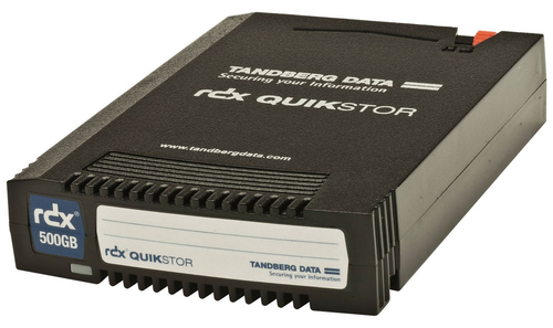 TANDBERG CARTUCCIA RDX ANALOGICO BACKUP 500GB
