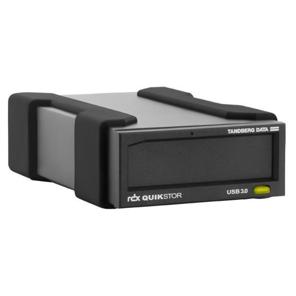 TANDBERG DISPOSITIVO DI BACKUP RDX ESTERNO QUIKSTOR USB3+ AUTOALIMENTATO