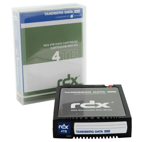 TANDBERG CARTUCCIA RDX ANALOGICO BACKUP 4TB