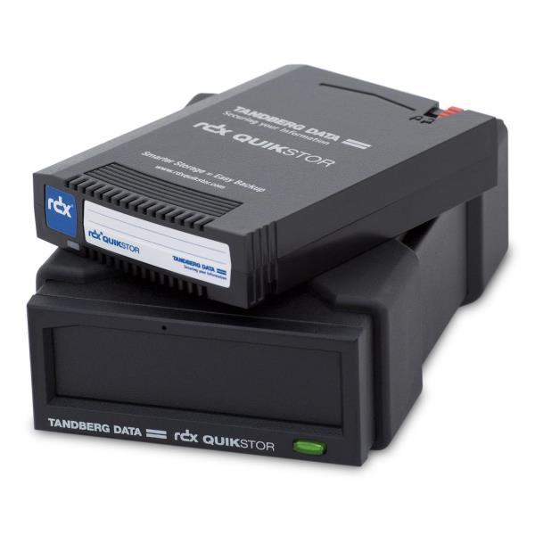 TANDBERG KIT DISPOSITIVO ESTERNO RDX USB3+ AUTOALIMENTATO CON CARTUCCIA BACKUP 2TB (SUPPORTO WINDOWS BACKUP E APPLE TIME MACHINE)