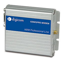 DIGICOM INDUSTRIAL MODEM GSM/GPRS QUAD BAND SERIAL RS232
