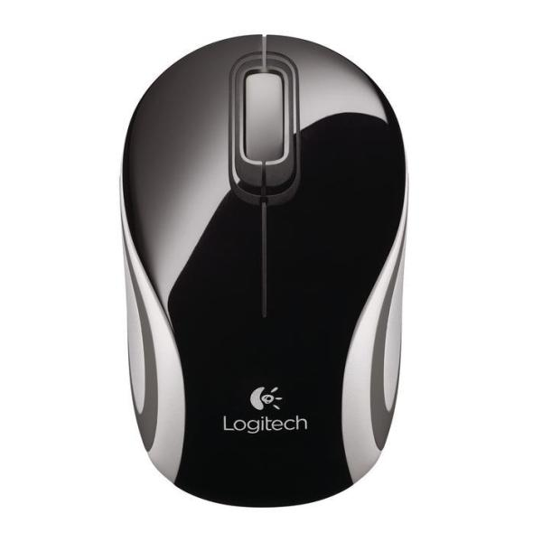 LOGITECH MOUSE MINI WIRELESS OTTICO M187 NERO