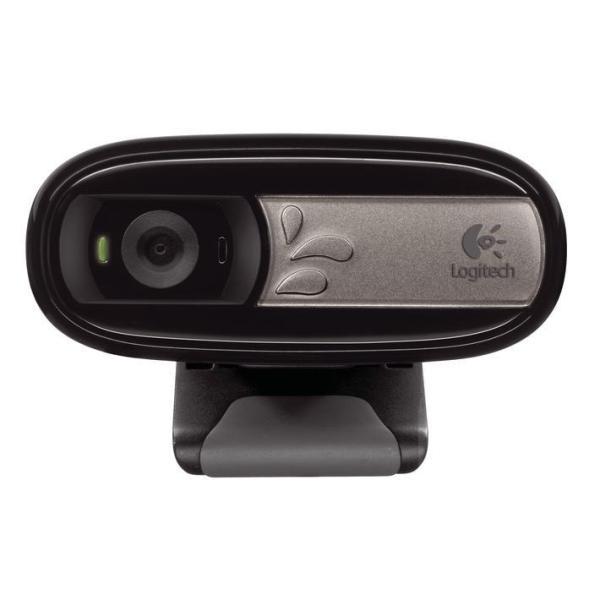 LOGITECH WEBCAM C170 USB 5MPX 1024X768 FLUID CRYSTAL MICROFONO INCORPORATO CLIP FISSAGGIO