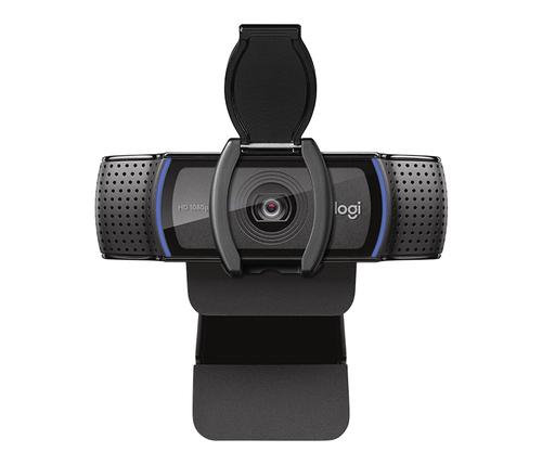 LOGITECH WEBCAM PRO C920S FULLHD 1080P, 30FPS, AUTOFOCUS, MICROFONO INTEGRATO, CLIP FISSAGGIO LAPTOP/LCD/MONITOR, COPRIOBIETTIVO
