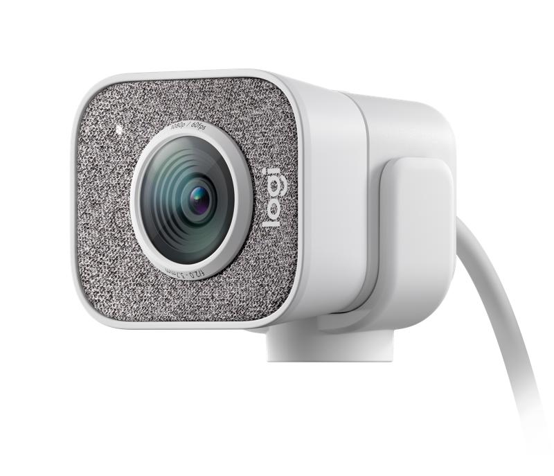 LOGITECH WEBCAM STREAMCAM FULL HD 1080P 60FPS, USB-C, BIANCO