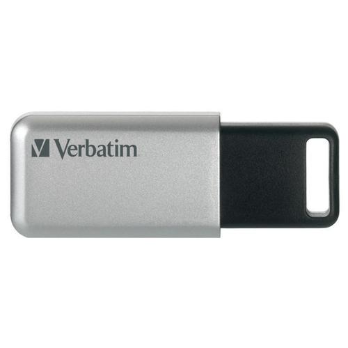 VERBATIM PEN DISK 16GB USB3.0 STORENGO CRITTOGRAFATA CON CODICE ACCESSO FINO A 12 CIFRE AES 256BIT