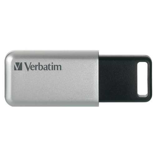 VERBATIM PEN DISK 64GB USB3.0 STORENGO CRITTOGRAFATA CON CODICE ACCESSO FINO A 12 CIFRE AES 256BIT