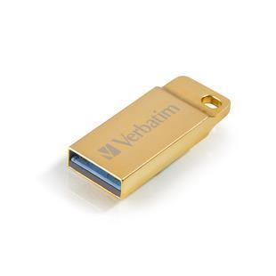VERBATIM PEN DISK 32GB USB3.0 METAL EXECUTIVE DRIVE GOLD
