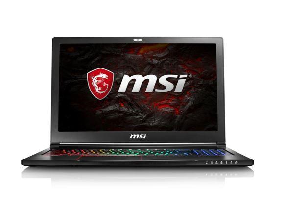 MSI NB GS63VR 7RG-070XIT STEALTH PRO I5-7300 8GB 15,6 GTX 1070 8GB FREEDOS