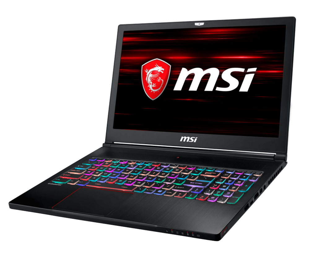 MSI NB GS63 STEALTH 8RE-011IT I7-8750H 16GB 256GB SSD + 1TB 15,6 FHD GTX 1060 6GB WIN 10 HOME