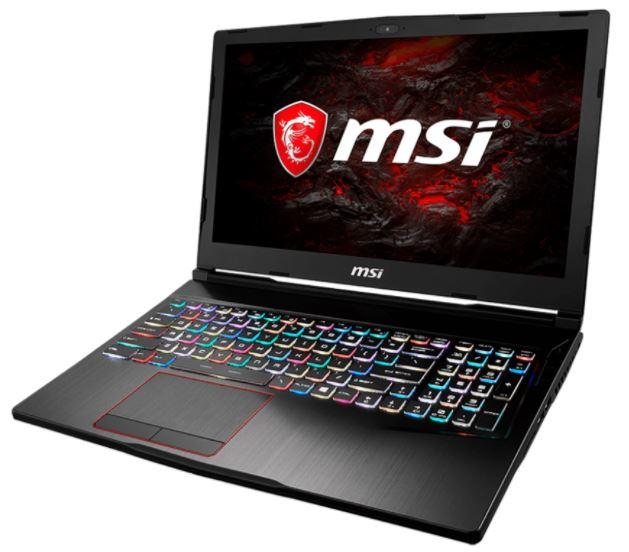 MSI NB GE63VR 7RE-248IT RAIDER I7-7700HQ 8GB 128GB SSD + 1TB 15,6 FHD GTX 1060 6GB WIN 10 HOME