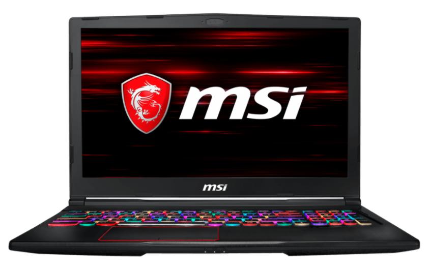 MSI NB GE63 RAIDER RGB 8RE-071IT I7-8750H 16GB 256GB SSD + 1TB 15,6 FHD GTX 1060 6GB WIN 10 HOME