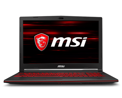 MSI NB GL63 8RD-026IT I7-8750H 16GB 128GB SSD + 1TB 15,6 FHD GTX 1050 TI 4GB WIN 10 HOME