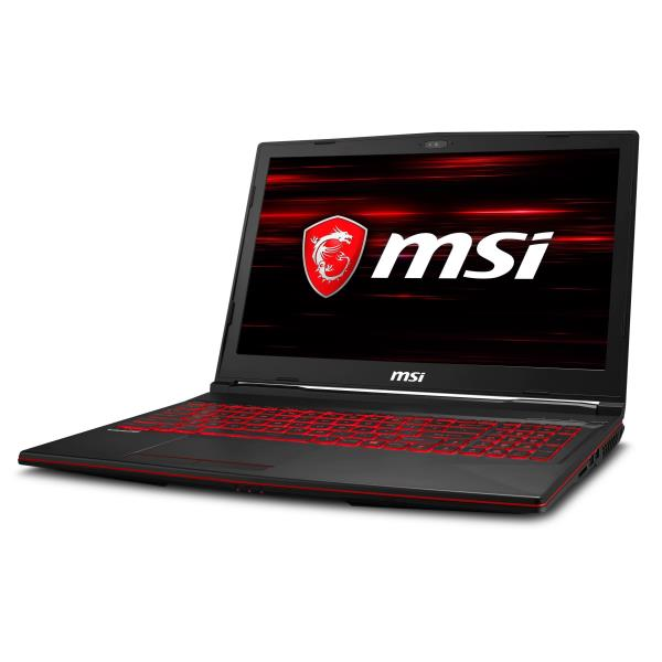MSI NB GL63 8RC-027IT I7-8750H 8GB 128GB SSD + 1TB 15,6 FHD GTX 1050 4GB WIN 10 HOME