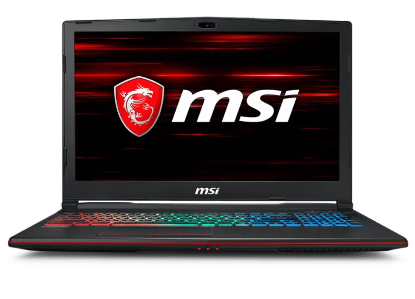 MSI NB GP63 LEOPARD 8RD-025IT I7-8750H 16GB 256GB SSD + 1TB 15,6 FHD GTX 1050 TI 4GB WIN 10 HOME