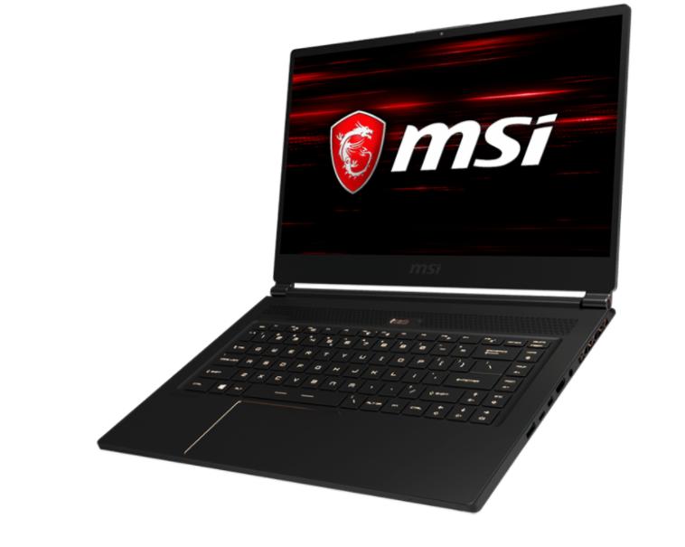MSI NB GS65 STEALTH THIN 8RF-026IT I7-8750H 16GB 512GB SSD 15,6 FHD GTX 1070 8GB WIN 10 HOME