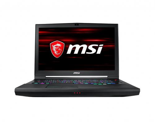 MSI NB GT75 TITAN 8SG-038IT I7-8750H 16GB*2 256GB*2 SSD + 1TB  17.3 UHD (3840*2160) RTX 2080 GDDR6 8GB WIN 10 HOME
