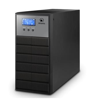 ATLANTIS UPS A03-OP3451 3450VA/2400W + FILTRI SW SHUTDOWN PC-INTERFACCIA USB -6 BATT. 12V/9A