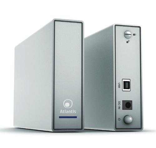 ATLANTIS BOX ESTERNO SATA 3,5 USB 3.0 ALLUMINIO SATINATO BLACK