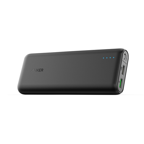 ANKER POWERBANK POWERCORE 20000 MAH WITH QUICK CHARGE 3.0 BLACK