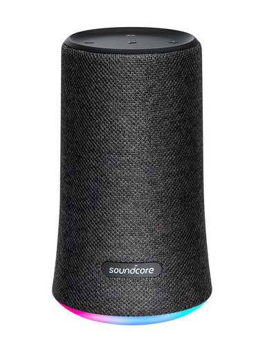 ANKER SOUNDCORE SPEAKER BLUETOOTH SOUNDCORE FLARE 12W, MIC, IPX7, RGB LIGHT, BLACK