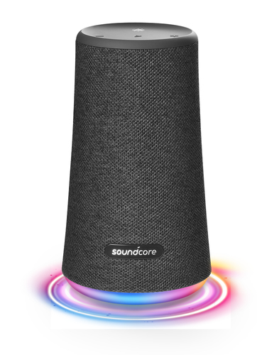 ANKER SOUNDCORE SPEAKER BLUETOOTH SOUNDCORE FLARE+ 25W, MIC, IPX7, RGB LIGHT, BLACK