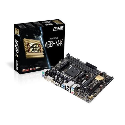 ASUS MB A68HM-K FM2 Micro-ATX2.133 MHz AMD A68