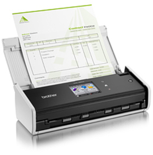 BROTHER SCANNER DOCUMENTALE ADS1600W A4 600DPI USB/ETHERNET ADF FRONTE/RETRO