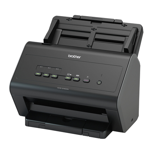BROTHER SCANNER DOCUMENTALE ADS-2400N 30PPM/60IPM 1200DPI ADF 50FF DUPLEX USB/ETHERNET