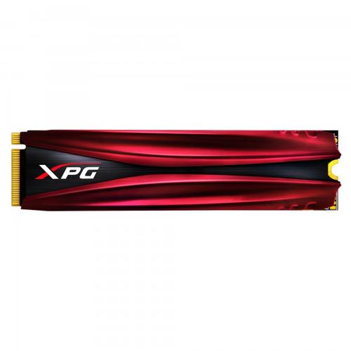 ADATA SSD GAMING XPG GAMMIX S11 480GB M.2 2280 PCIE GEN3X4 3D NAND FLASH 2ND GEN NVME 1.3 R/W 3050/1700 MB/S BLACK/RED HEATSINK