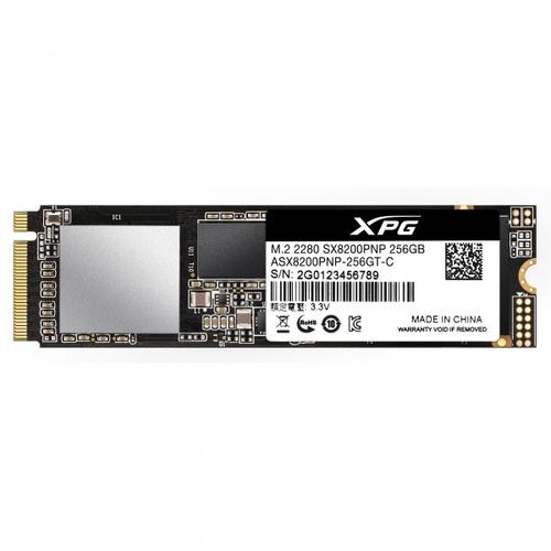 ADATA SSD GAMING XPG SX8200 PRO 256GB M.2 PCIE GEN3X4 NVME 1.3 3D NAND