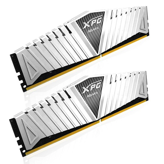 ADATA RAM GAMING XPG Z1 SERIES DDR4 2666MHZ CL19 KIT 2X8GB SILVER HEATSINK