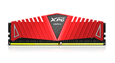 ADATA RAM GAMING XPG Z1 SERIES DDR4 3000MHZ CL16 8GB RED HEATSINK