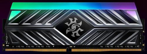 ADATA RAM GAMING XPG SPECTRIX D41 DDR4 3200MHZ CL16 2X8GB RGB LED STRIP TITANIUM