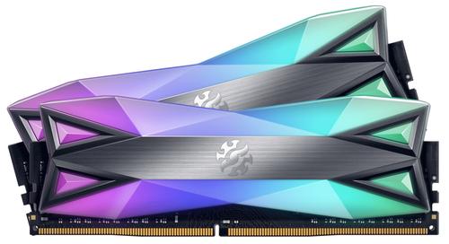 ADATA RAM GAMING XPG SPECTRIX D60G DDR4 3200MHZ CL16 2X8GB RGB FULL LED TITANIUM 16GB