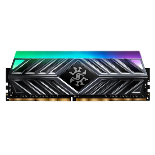 ADATA RAM GAMING XPG SPECTRIX D41 DDR4 3200MHZ CL16 8GB RGB LED STRIP TITANIUM