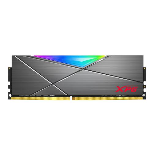 ADATA RAM GAMING XPG SPECTRIX D50G 8GB(1x8GB) DDR4 3200MHZ RGB, CL16-20-20, TUNGSTEN GREY