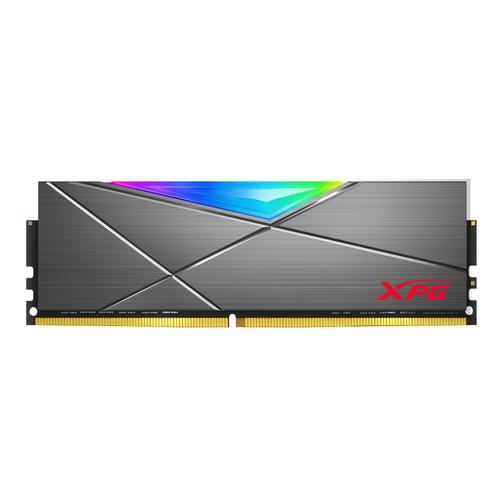 ADATA RAM GAMING XPG SPECTRIX D50G 8GB(1x8GB) DDR4 3600MHZ RGB, CL18-22-22, TUNGSTEN GREY